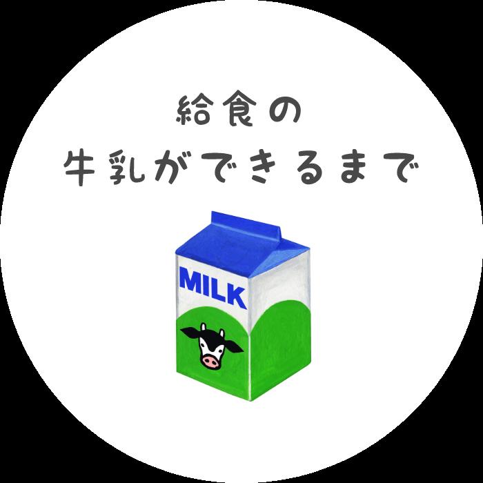 給食の牛乳ができるまで