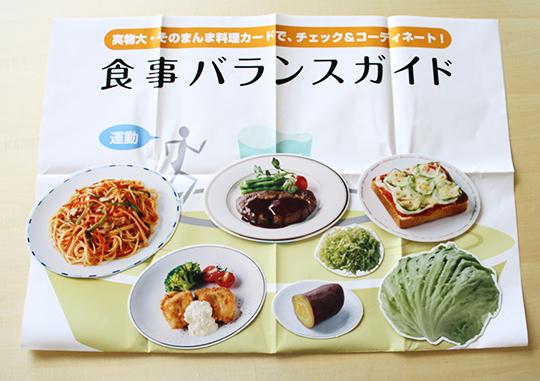 料理カード 「食事バランスガイド編」