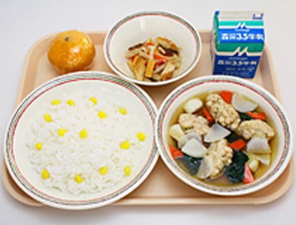 昭和60年代の給食